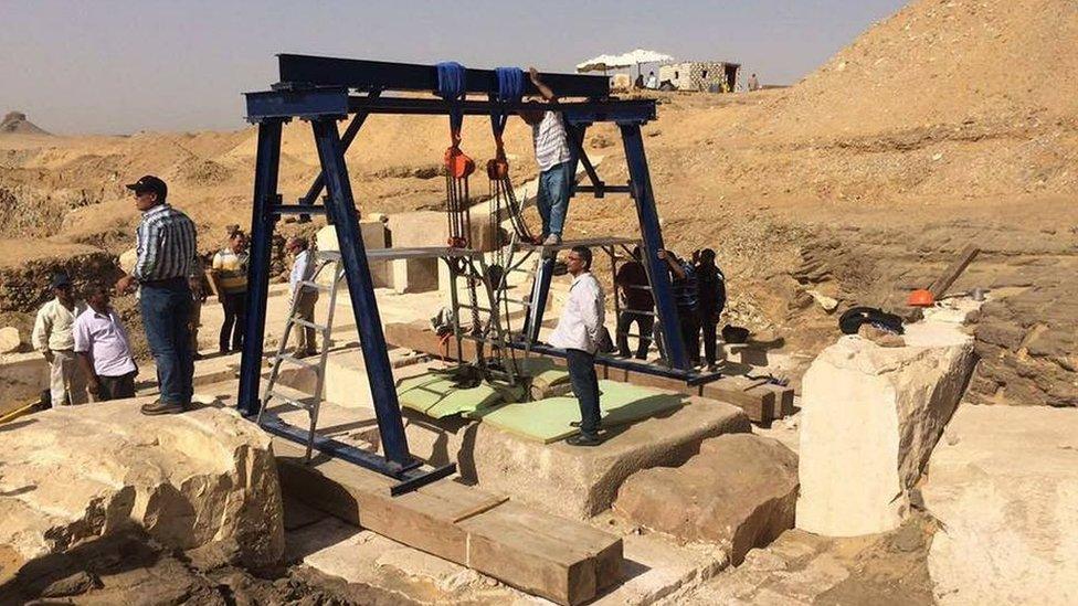 Hallan la milenaria tumba de la hija de un faraón en Egipto