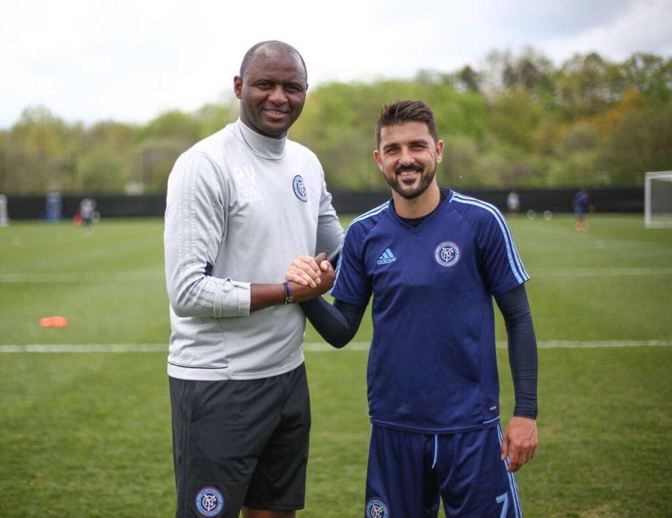 David Villa jugará un año más con el New York City FC