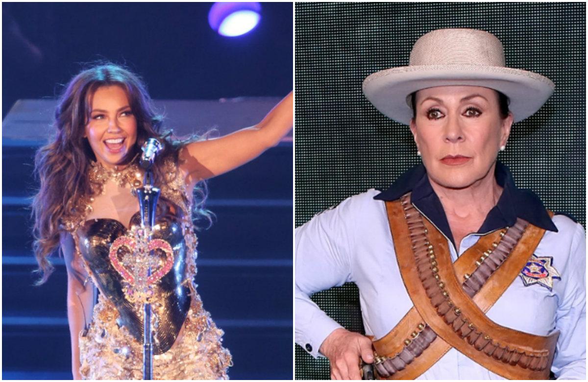 Laura Zapata tacha a Thalía de tacaña