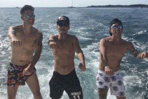 Video: Jugadores de Cruz Azul disfrutan del sol en Cancún y hasta bailan reggaetón