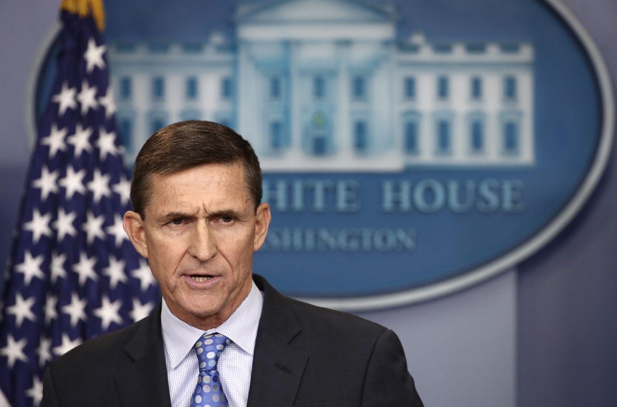 Mike Flynn, ex asesor de seguridad nacional de Donald Trump. Getty Images