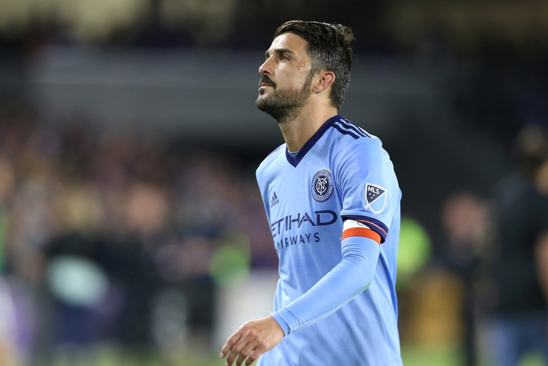 El español David Villa del New York City FC ya se subió al Top 3 de los goleadores de la MLS.