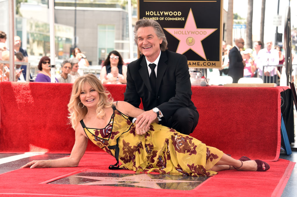 El aniversario soñado de Goldie Hawn y Kurt Russell tras 34 años de amor
