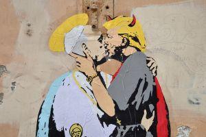 El polémico mural que le da la vuelta al mundo