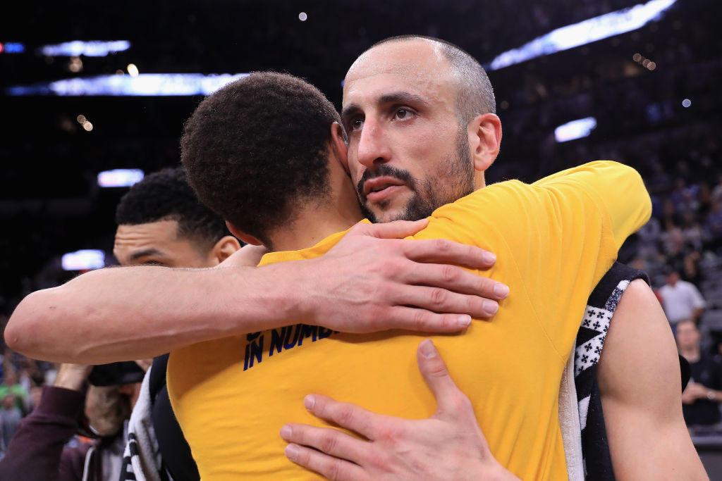 La noche más triste para los Spurs por el posible adiós de Manu Ginóbili