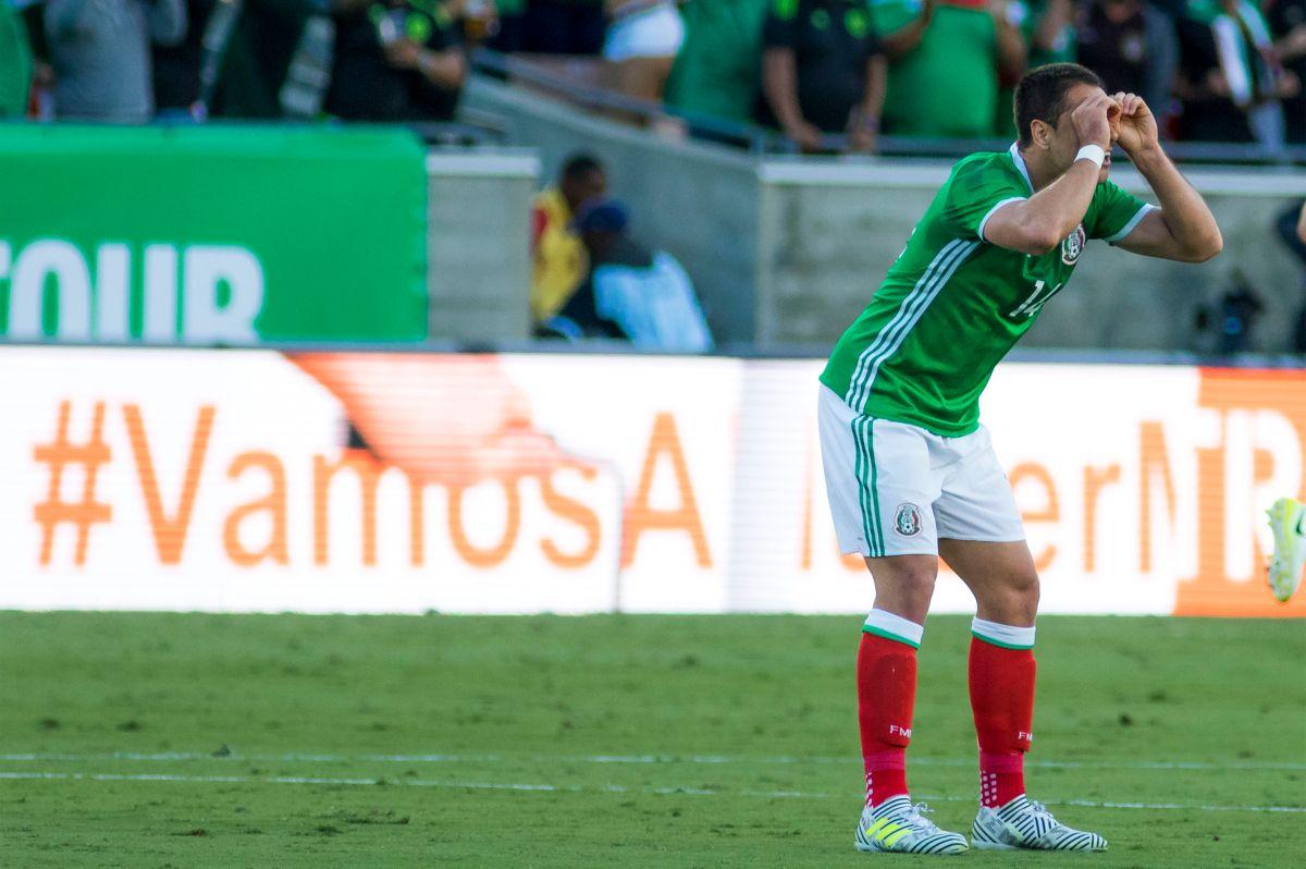 México 1-2 Croacia: Chicharito, nuevo rey del gol en el Tri
