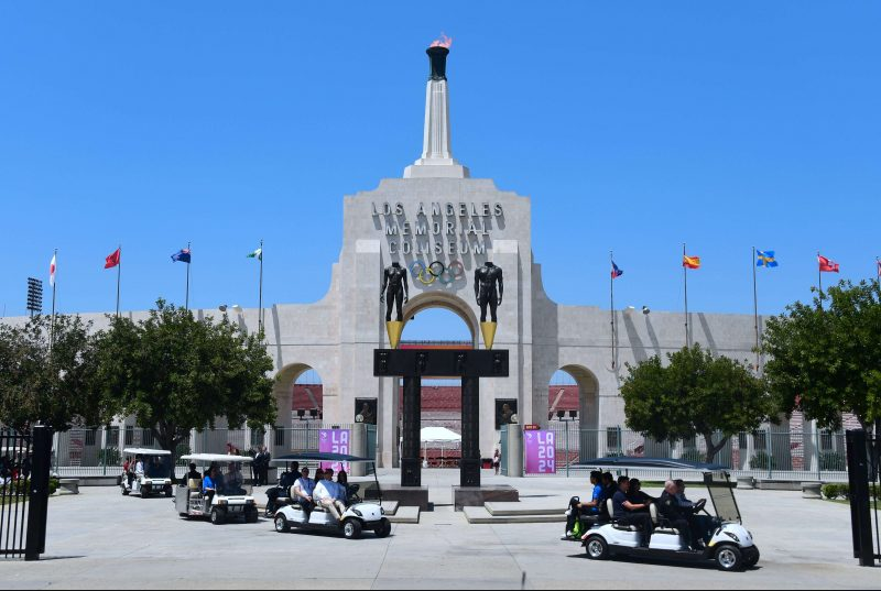 COI califica de 'excelente' la propuesta de Los Ángeles para albergar los JJOO