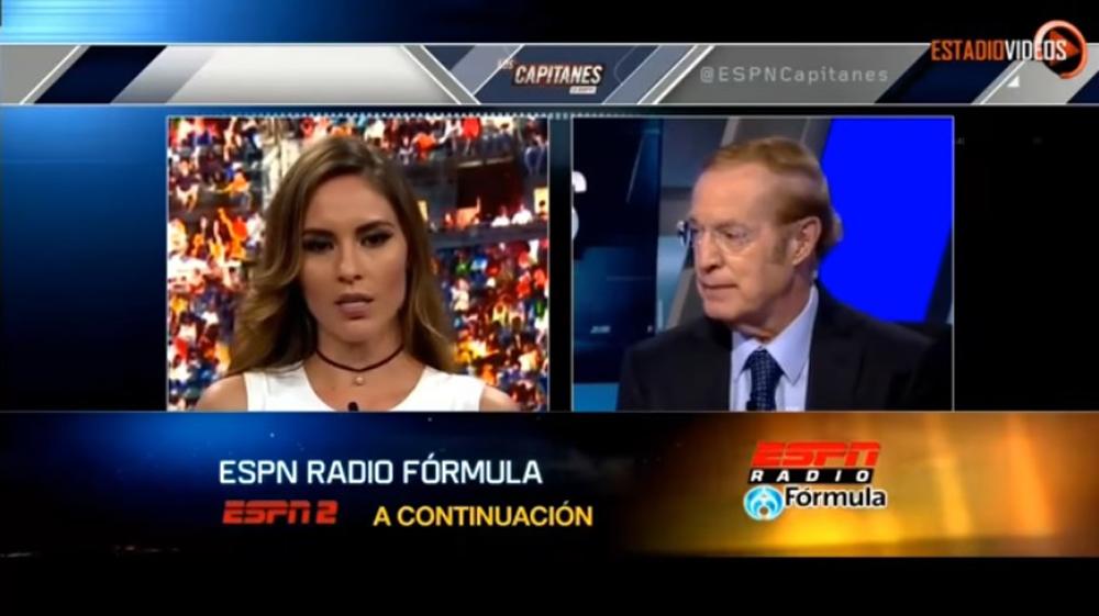 Video: José Ramón Fernández calla a conductora de ESPN y ella lo deja en ridículo