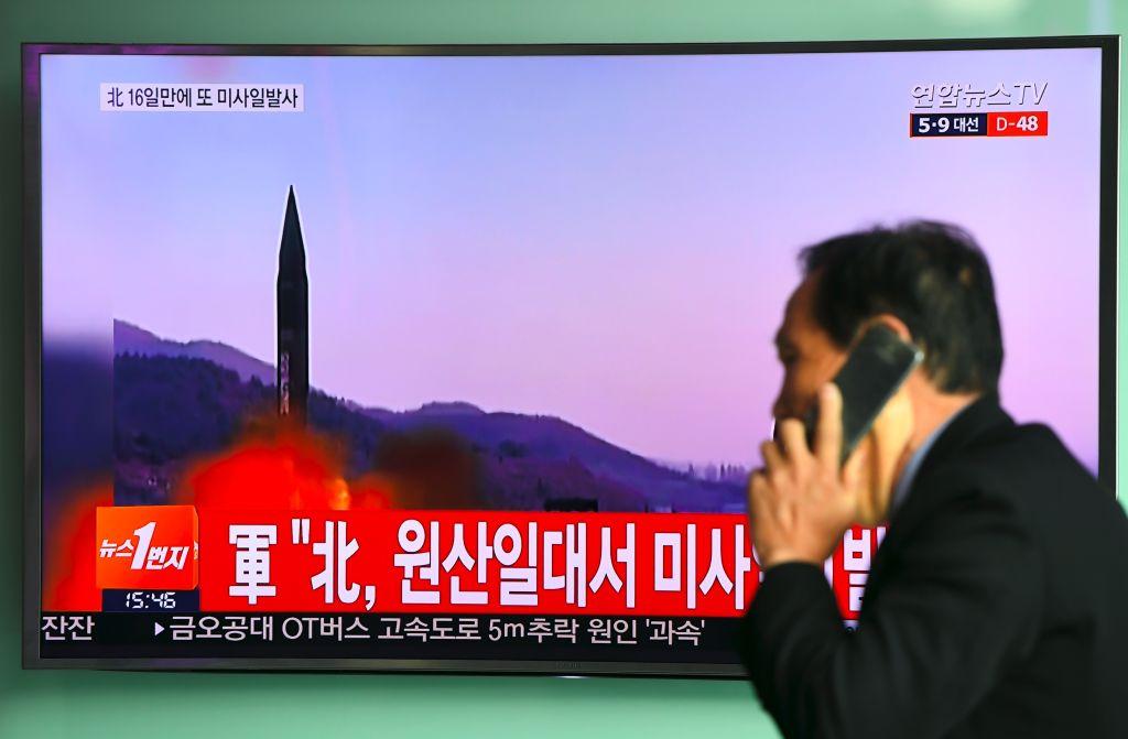 Corea del Norte habría lanzado más de un misil en su último ensayo