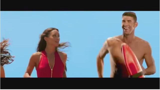 """Checa el """"casting"""" de Michael Phelps para convertirse en todo un """"BayWatch"""""""