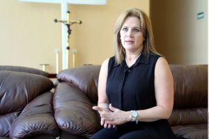 ¡Desesperada y hasta llorando! Así vivió Erika Buenfil la fuerte inundación que afectó su casa
