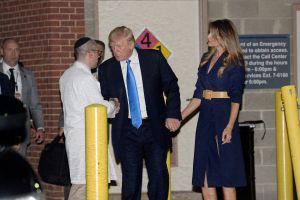 Trump visita por sorpresa a congresistas heridos en tiroteo en Virginia