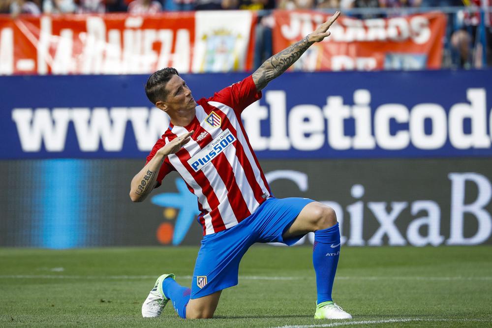 """Fernando """"El Niño"""" Torres, del Atlético de Madrid, está en la mira del San Luis."""