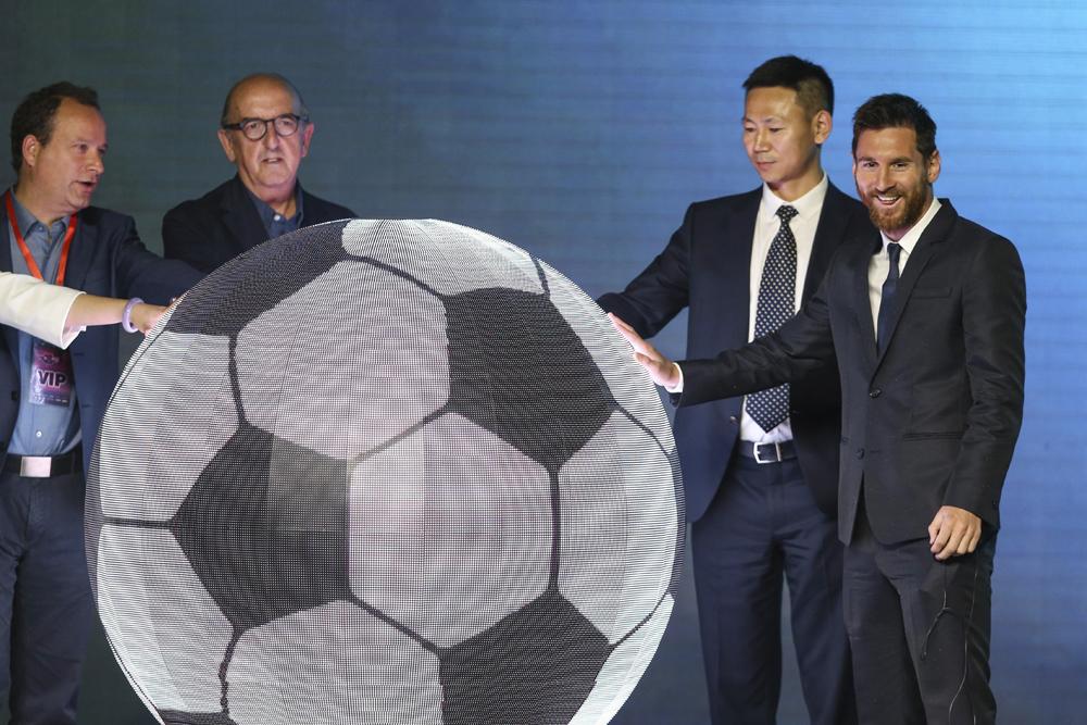 De la cancha a los negocios: Messi tendrá su parque de diversiones en China