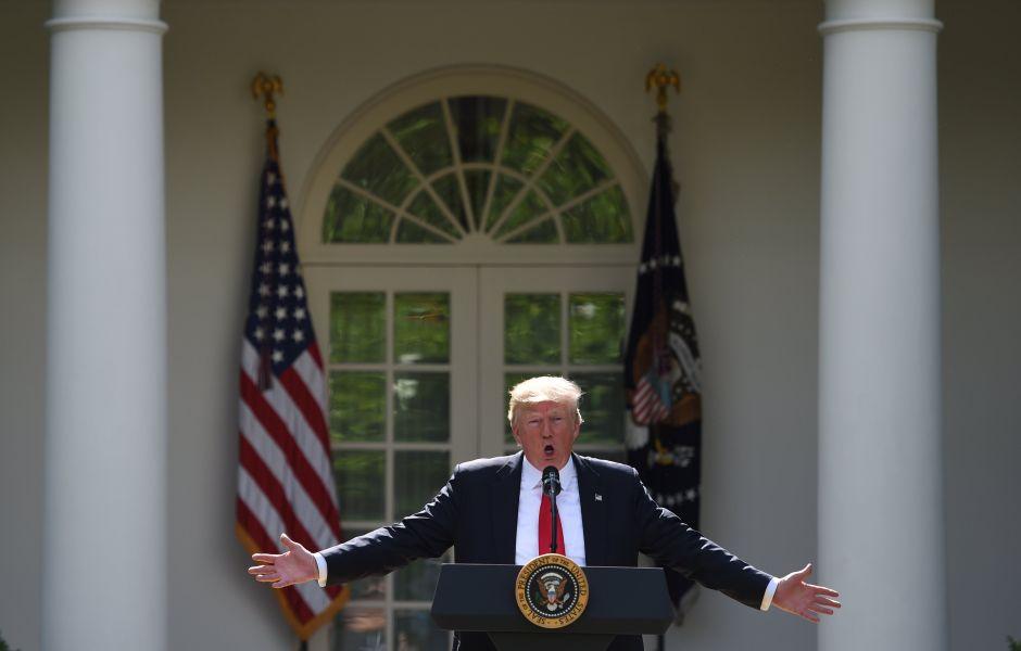 """Trump le dice """"au revoir"""" al Acuerdo Climático de París, pide renegociación"""