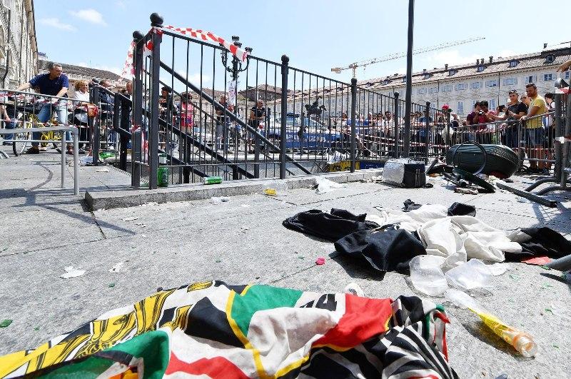 El Ayuntamiento de Turín eleva a 1,527 los heridos tras estampida