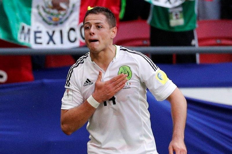 El gol 48 del Chicharito con el Tri lo pone como el segundo mejor goleador mexicano en Confederaciones