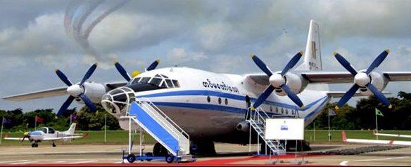 Se estrella avión militar con más de 100 personas a bordo en Birmania