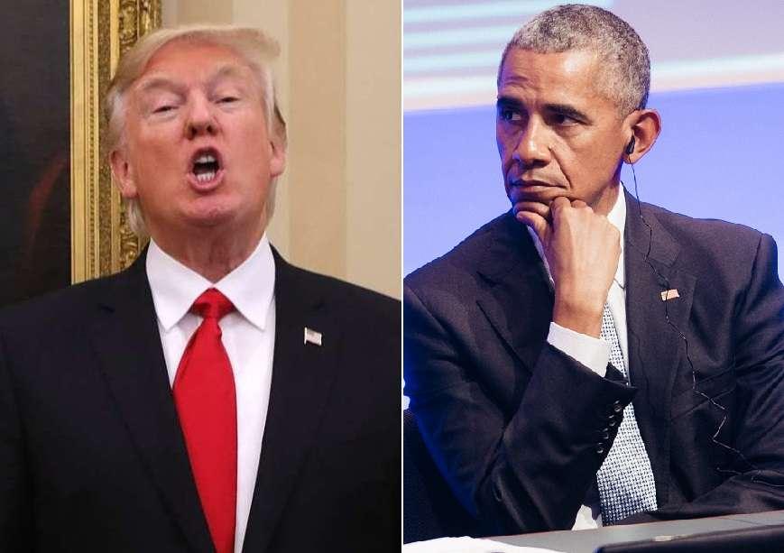 Trump desmiente supuesto plan en contra de Obama