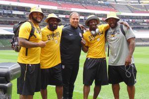 Steelers, invitados de lujo en el entrenamiento de EEUU en el Azteca