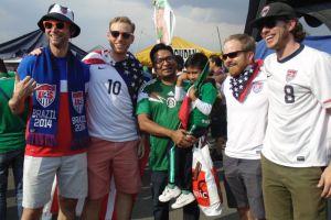 Mariachi, camisetas verdes, tacos y Trump, todo lo que no viste del México vs. EEUU