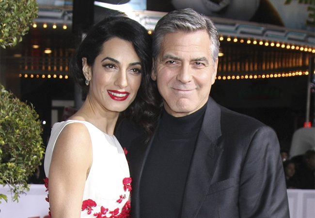 George y Amal Clooney ya son papás
