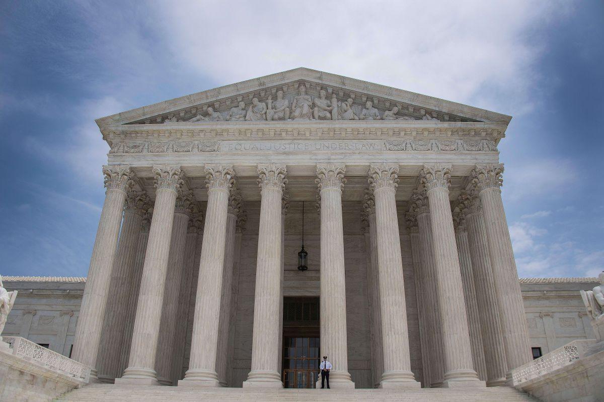 El Tribunal Supremo en Washington DC.