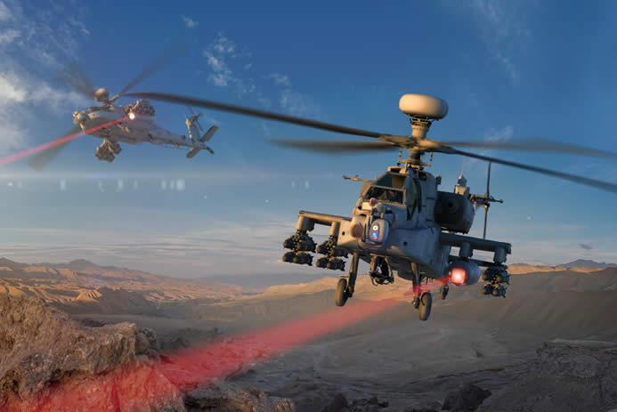 Estados Unidos ensaya un arma láser en un helicóptero
