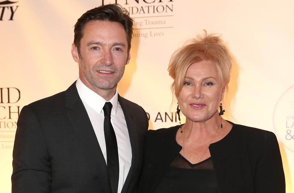 Hugh Jackman y su esposa Deborra-Lee Furness.