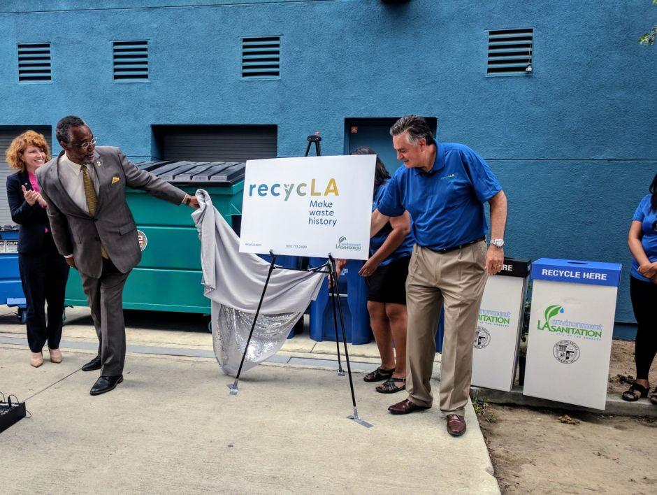 Los Ángeles anuncia nuevo programa de reciclaje en edificios comerciales y multi-familiares