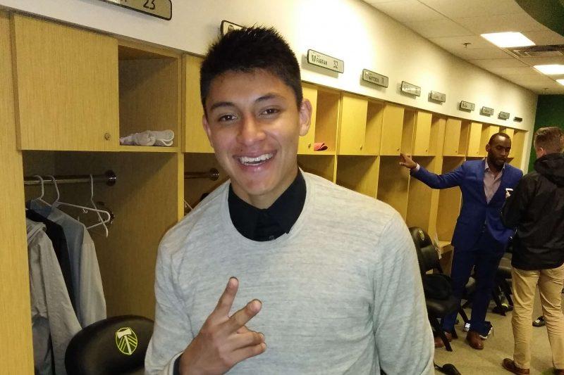 Marco Farfán, el estudiante de preparatoria que ya brilla en la MLS