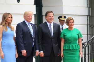 Trump y Varela se comprometen a fortalecer relaciones entre EEUU y Panamá