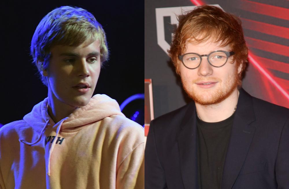 Ed Sheeran cuenta como golpeó a Justin Bieber durante borrachera