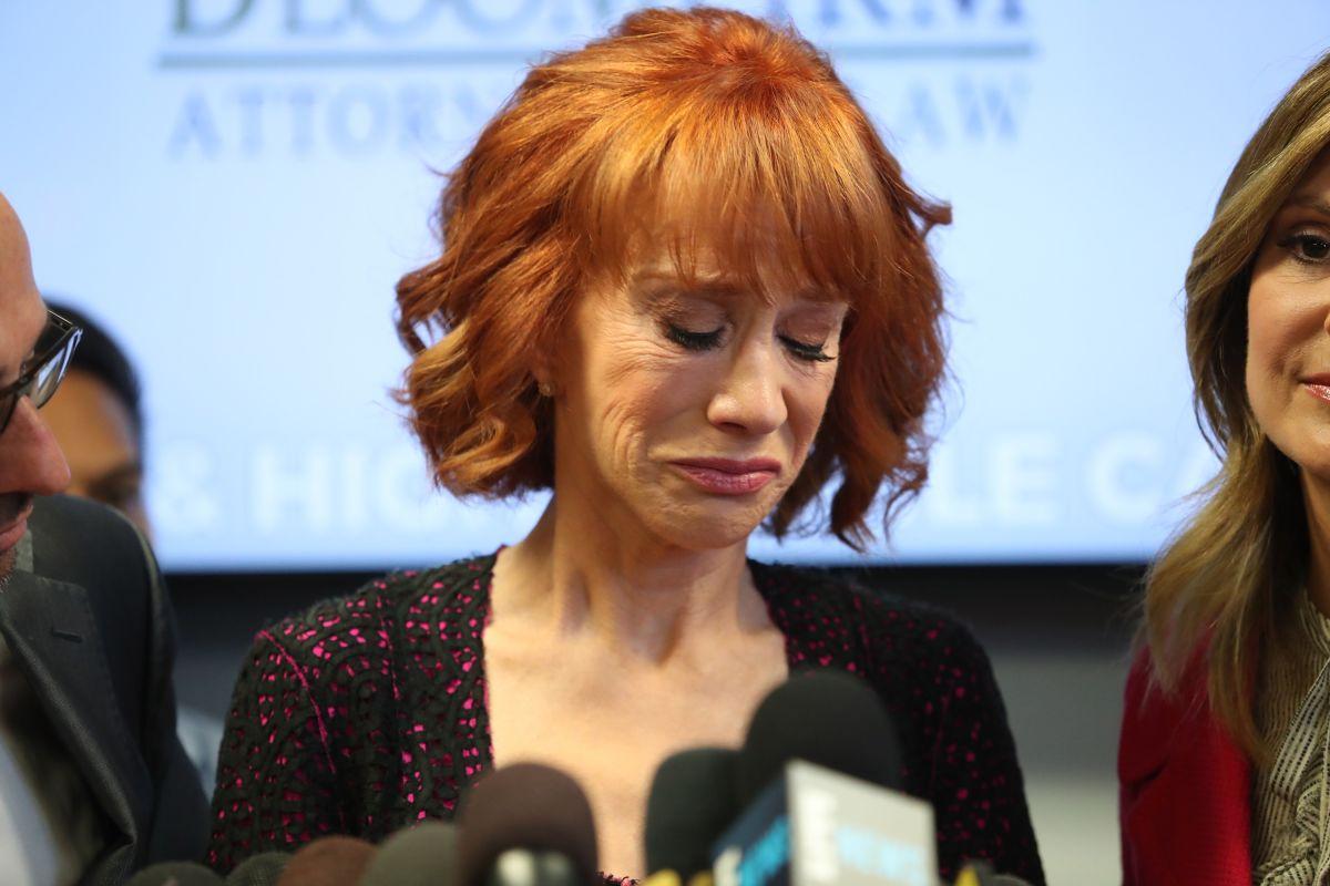 Kathy Griffin asegura sufrir 'acoso' de familia Trump