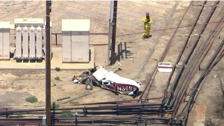Un muerto en accidente de avión cerca de Ventura