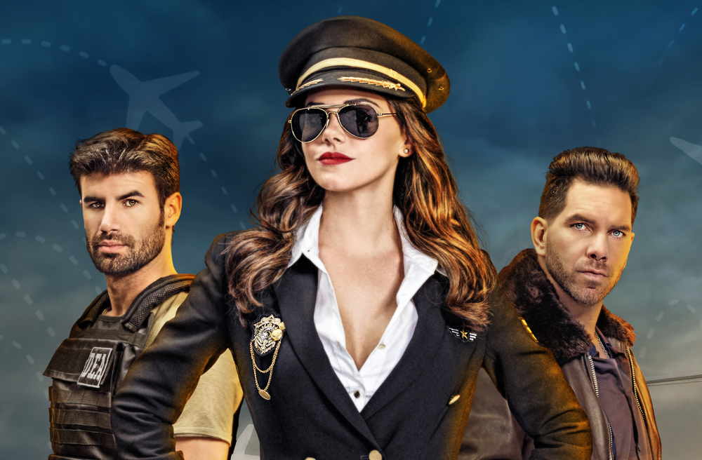 """Livia Brito es """"La Piloto"""" en la serie de Univision"""
