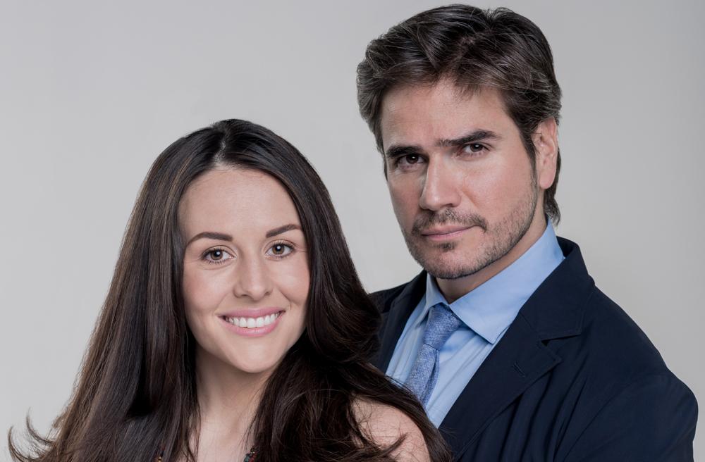 """Zuria Vega y Daniel Arenas protagonizan la telenovela """"Mi marido tiene familia"""""""