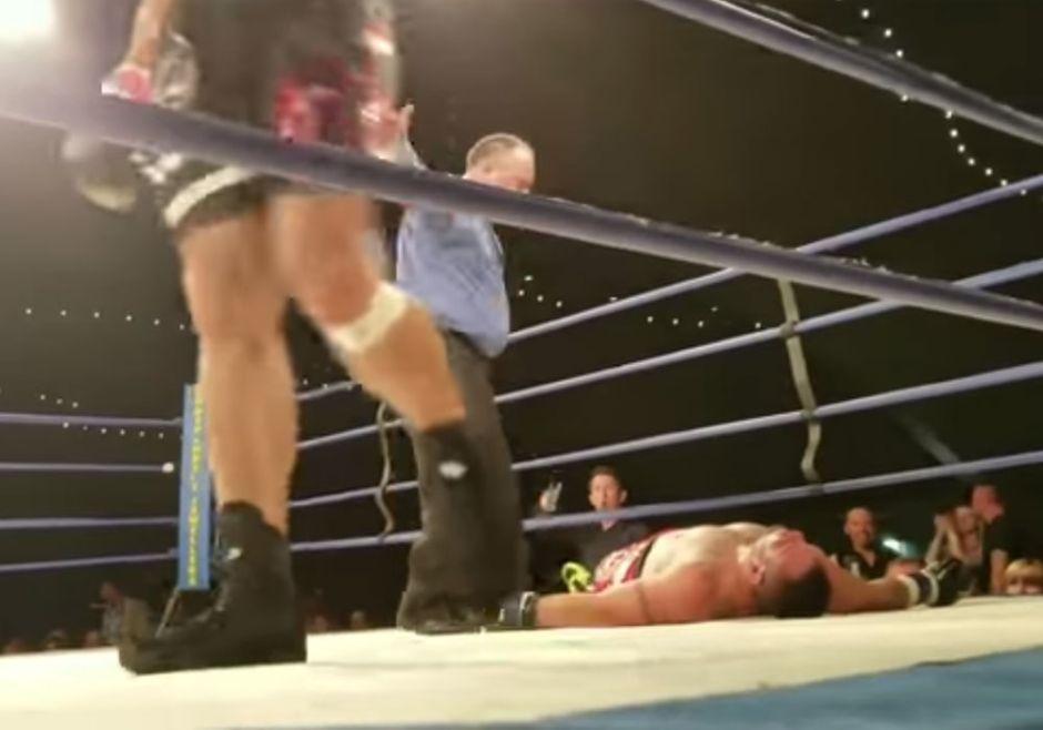 Boxeador sufre muerte cerebral tras recibir paliza en el ring