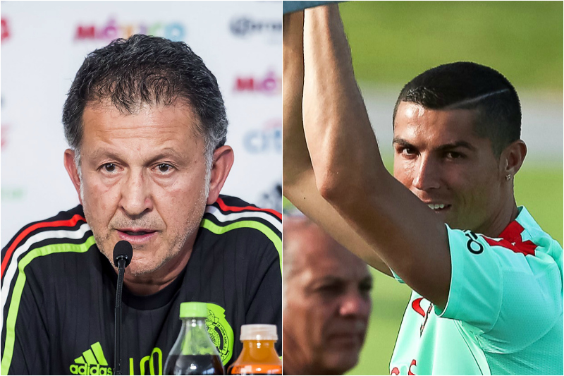 Cristiano Ronaldo es lo que menos le importa a Juan Carlos Osorio y al Tri