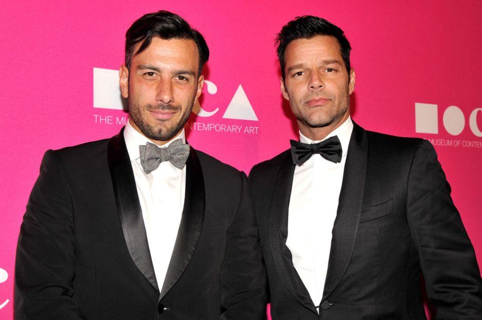 La foto sexy de Ricky Martin que enciendió la pasión de su novio