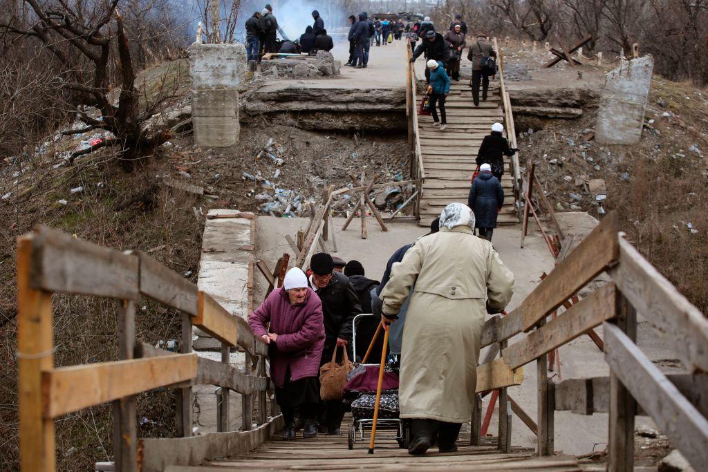 La bisabuela que sobrevivió a tres bombardeos de su casa en Ucrania