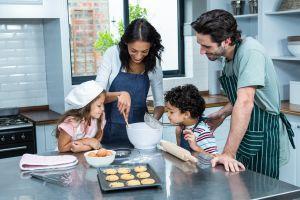 Prepara en 2 pasos las deliciosas galletas fit de Cristina D´Acosta