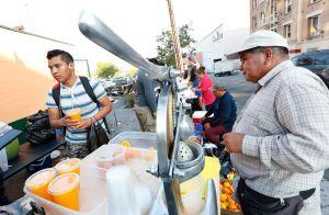 Los Ángeles es la única gran urbe de EEUU que no permite la venta ambulante
