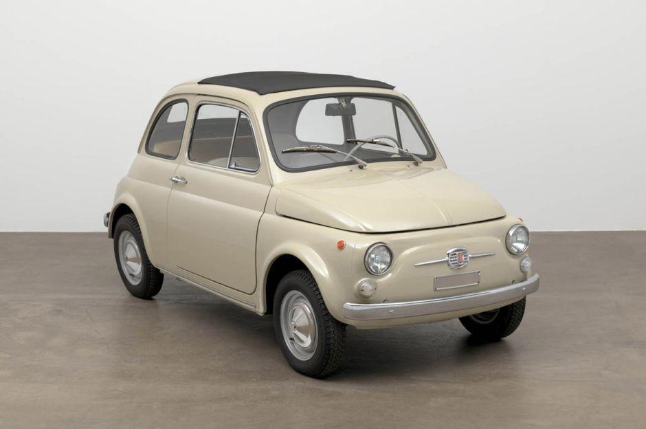 El Fiat 500 es oficialmente una obra de arte