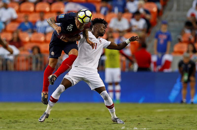 Costa Rica y Canadá empatan y se acercan a cuartos de final