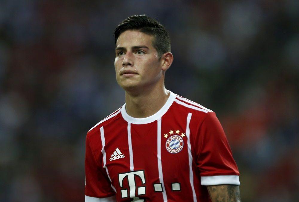 """Video: Jugadores del Bayern Munich cantan """"Despacito"""", alentados por James Rodríguez"""