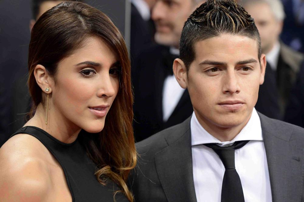 Cámaras de Telemundo sorprenden a James Rodríguez con su exesposa