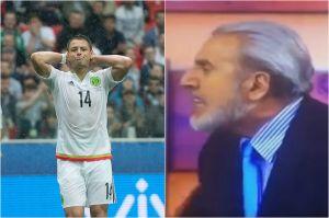 "Carlos Albert explota contra Chicharito: ""¡Deja de mandar tuits pend...!"""