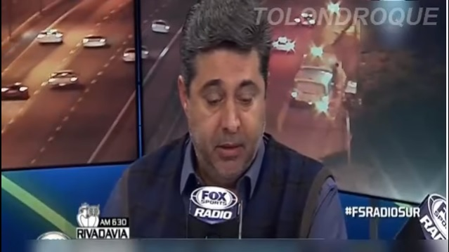 Video: Fox Sports capta asalto en vivo durante entrevista al presidente de Boca Juniors