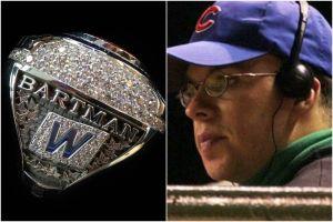 Los Cachorros de Chicago 'exorcizan' a Bartman con un anillo de campeonato